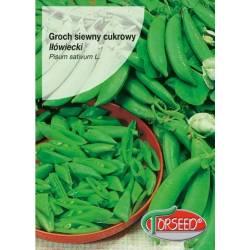 TORSEED Groch cukrowy Iłówiecki 50g bezwłóknisty strąki na zielono