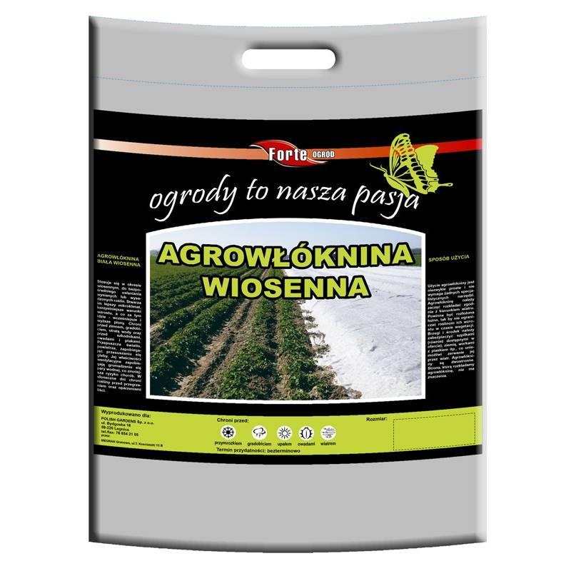 Agrowłóknina 1,6x10m wiosenna Forte chroni i zabezpiecza