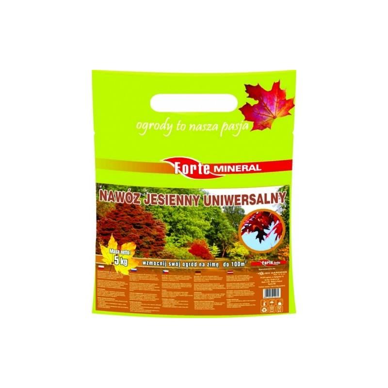 Forte Mineral 5kg Nawóz jesienny uniwersalny doskonały do wszystkich upraw