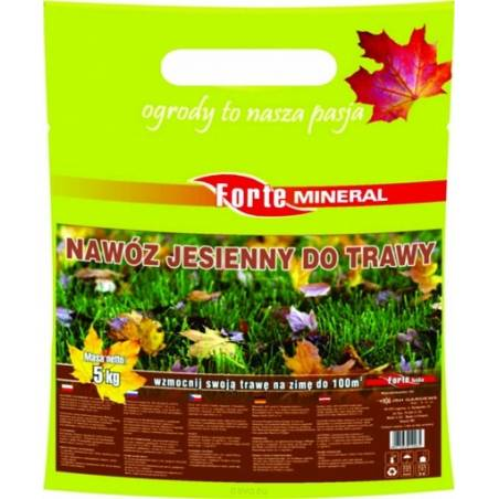 Forte Mineral 5kg Nawóz jesienny do trawy bez azotu
