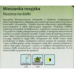 Legutko 20g Mieszanka rosyjska nasiona na kiełki