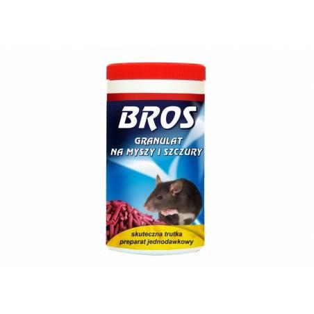 Bros 250g Granulat na myszy i szczury działa mumifikująco