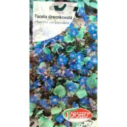 Torseed 0,5g Facelia dzwonkowata niebieska miododajna nasiona kwiatów