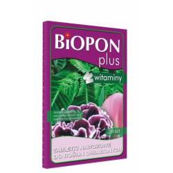 Biopon  Plus 20szt. Tabletki nawozowe do roślin osłabionych z witaminami
