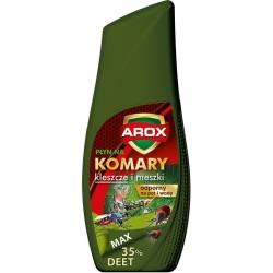 Arox 50ml Płyn na komary kleszcze i meszki odporny na pot i wodę 35% DEET