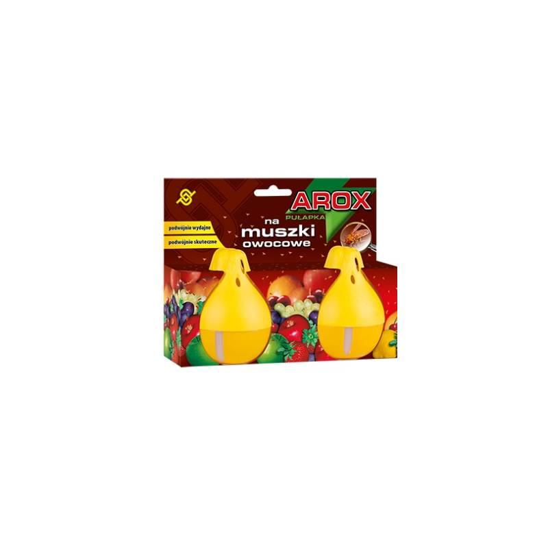 Arox 30ml Pułapka na muszki owocowe 2 gruszki z naturalnym atraktantem