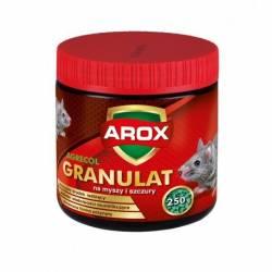 Arox 250g Granulat na myszy i szczury skuteczna trutka na gryzonie