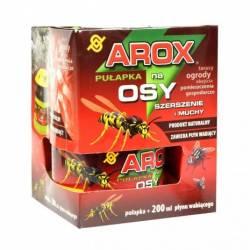 Arox Pułapka na osy, szerszenie i muchy + 200ml płynu wabiącego