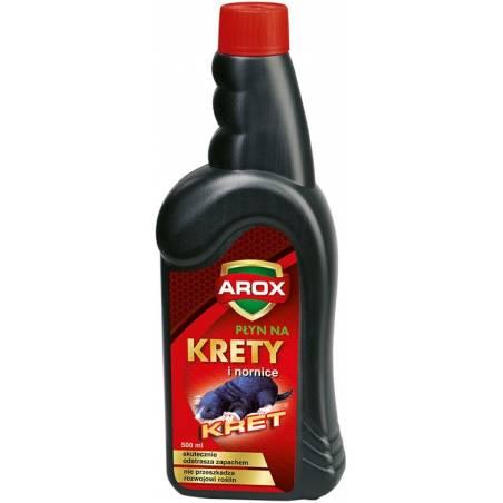 Arox 500ml Płyn na krety i nornice skutecznie odstrasza zapachem