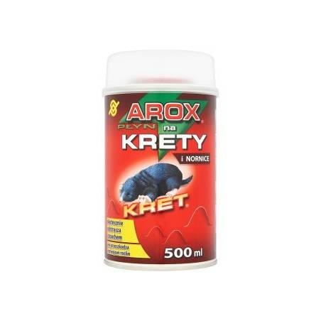 Arox 500ml Płyn na krety i nornice skutecznie odstrasza zapachem puszka