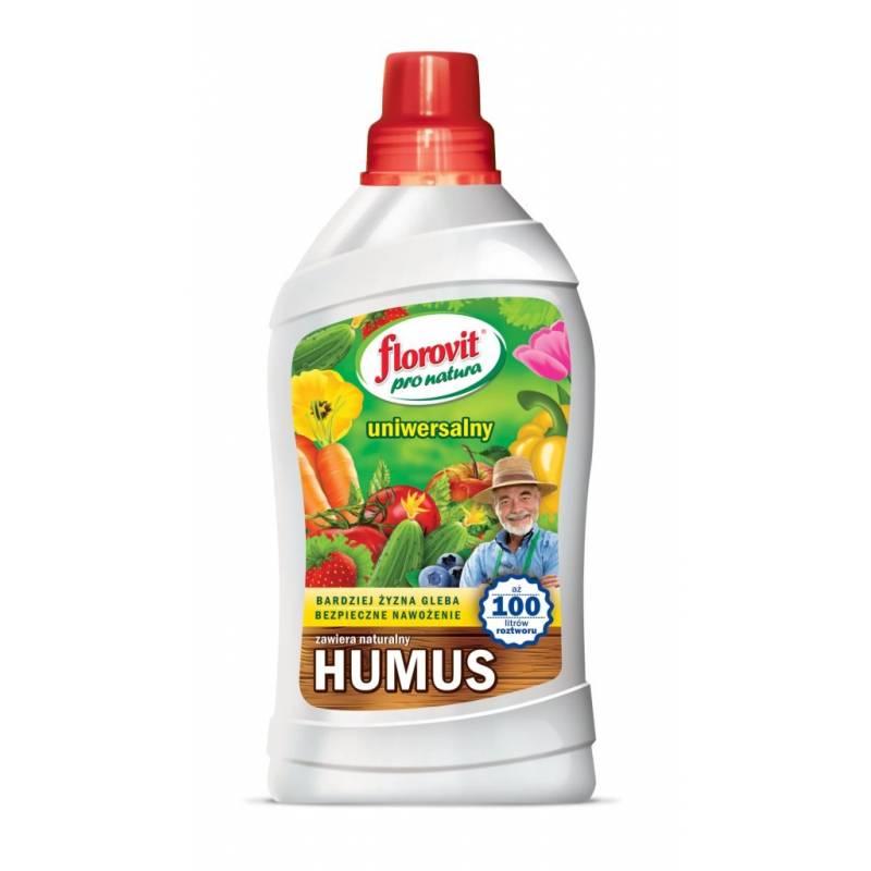 Florovit Pro Natura 1kg Nawóz uniwersalny organiczno-mineralny Humus