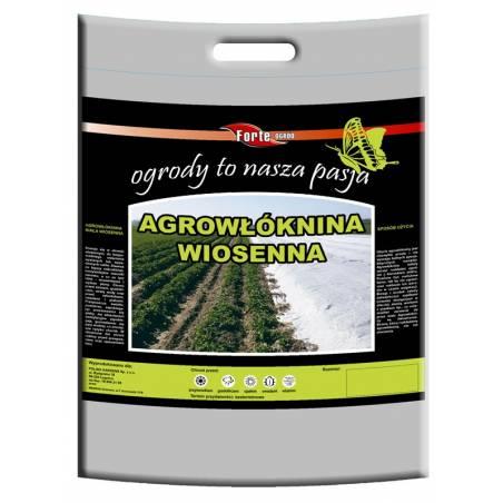 Agrowłóknina 1,6x5m wiosenna forte chroni i zabezpiecza