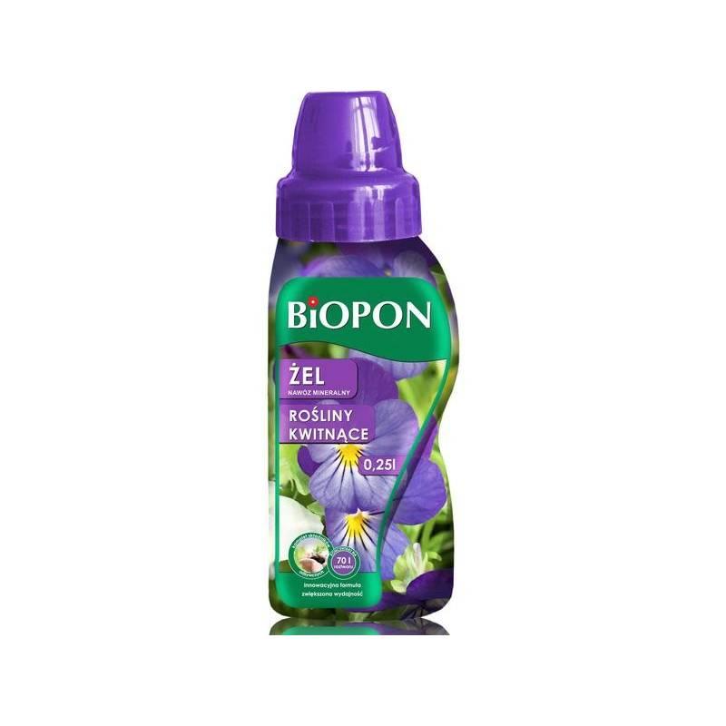 Biopon 250ml Żel nawóz mineralny do roślin kwitnących innowacyjna formuła