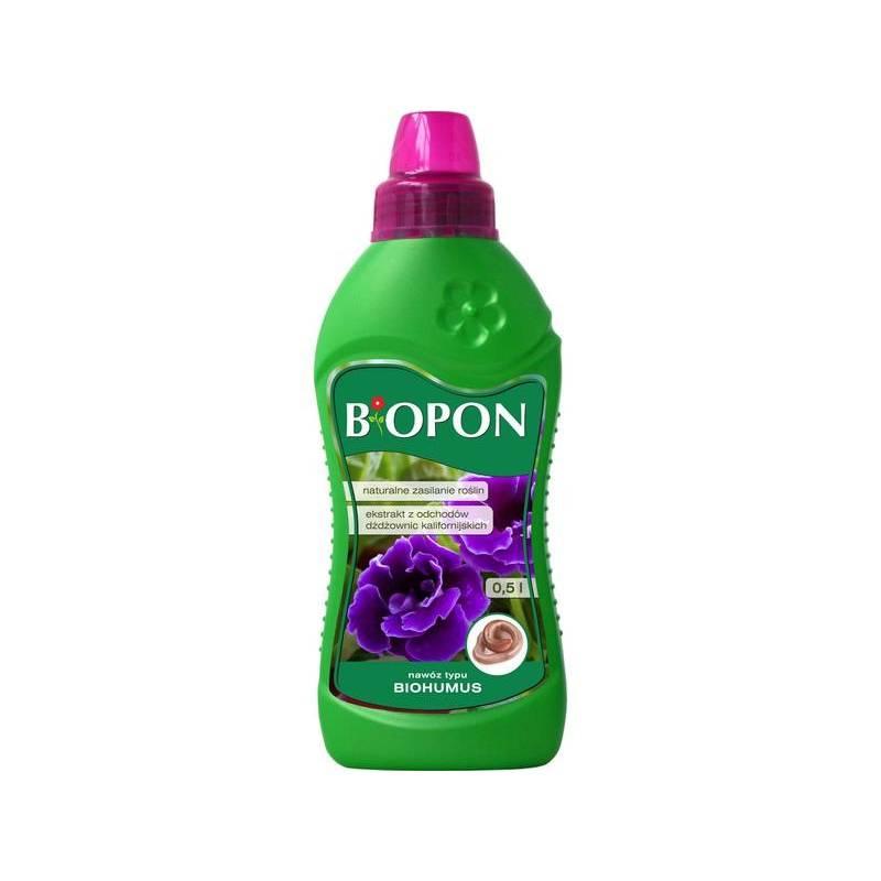 Biopon 0,5l Biohumus ekstrakt z odchodów dżdżownic kalifornijskich