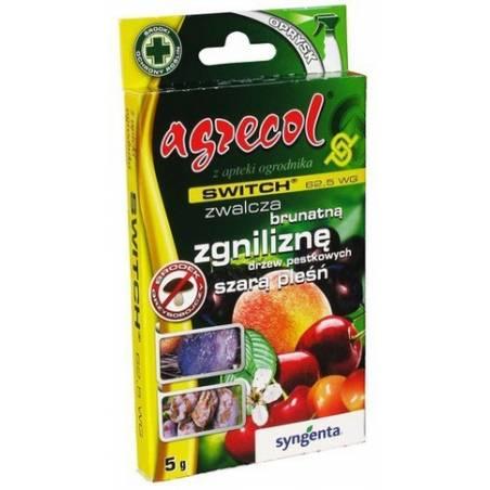 Switch 62,5 WG 5g środek grzybobójczy Agrecol szara pleśń antraknoza