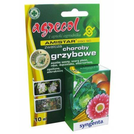 Amistar 250 SC 10ml Środek grzybobójczy mączniak szara pleśń Agrecol