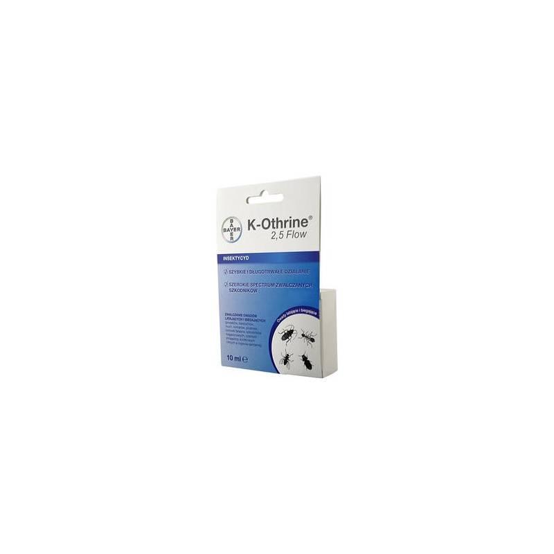 K-Othrine 2,5 Flow 10ml Środek owadobójczy prusaki pluskwy muchy Bayer