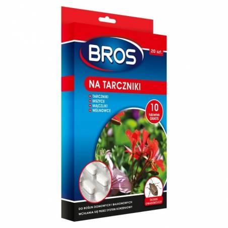 Bros 60g Tabletki na tarczniki środek owadobójczy mączliki, wełnowce