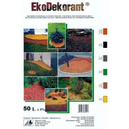 Kora Kolorowa zrębki dekoracejne ozdobe 50l mulcz Ekodekorant ( Wokas holas Athena )