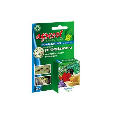 Magus 200 SC 3ml Środek owadobójczy wszystkie stadia przędziorka Agrecol