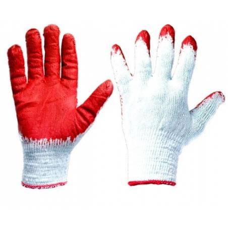 Rękawice 10 par Wampirki robocze ochronne powlekane gumowane ogrodowe