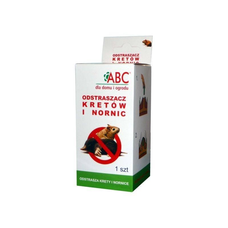 ABC 1 szt Dźwiękowy odstraszacz kretów i nornic na baterie