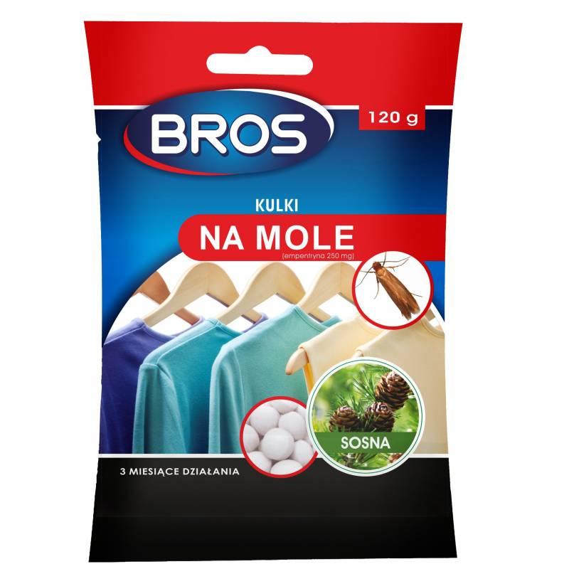 Bros 120g Kulki na mole o zapachu sosnowym