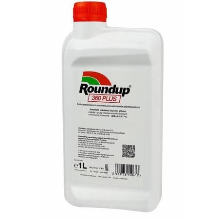 Roundup 360 PLUS SL 1L Środek na chwasty Monsanto Randap Rondup