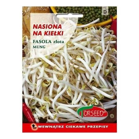 Torseed Fasola złota Mung 30g nasiona na kiełki