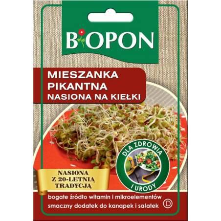 Biopon Mieszanka pikantna 30g nasiona na kiełki