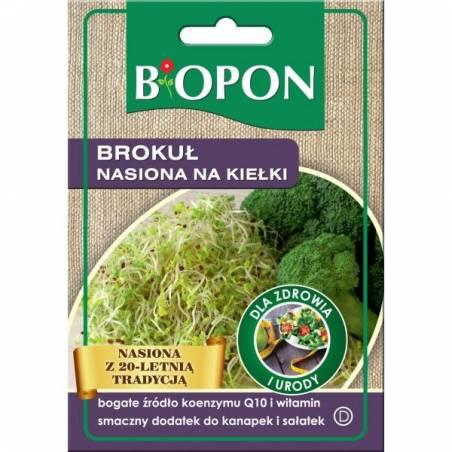 Biopon Brokuł 8g nasiona na kiełki