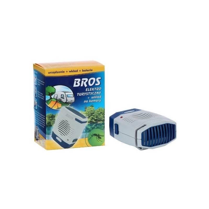Bros Elektro turystyczny + wkład na komary + baterie działa 480 godzin