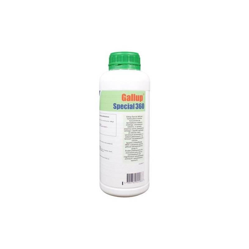Barclay 1l Gallup 360SL herbicyd koncentrat do zwalczania chwastów ( Roundup, Rondup )