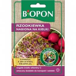 Biopon Rzodkiewka 20g nasiona na kiełki