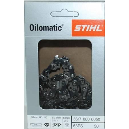 STIHL Łańcuch piła Oilomatic Micro 3 do pilarki 35cm x 3/8 x 1.3 na 50 ogniw