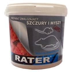 Rater Strong 500g Bloczki woskowane trutka kostka myszy szczury mumifikuje