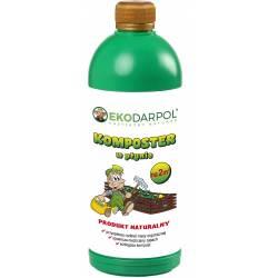 Ekodarpol 1l Komposter w płynie przyspiesza kompostowanie