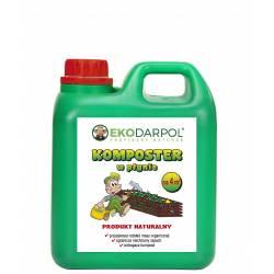 Ekodarpol 2l Komposter w płynie przyspiesza rozkład