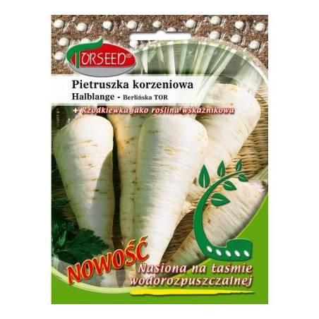 Torseed 300 Nasion Na Taśmie Pietruszka Korzeniowa Halblange - Berlińska Nasiona