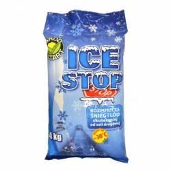 Ampol 4kg Ice Stop chlorek magnezu -30C anty lód sól drogowa środek antyoblodzeniowy