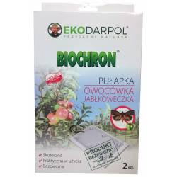 Ekodarpol 2szt. Biochron Pułapka na owocówkę jabłkóweczkę feromonowa wabi lep