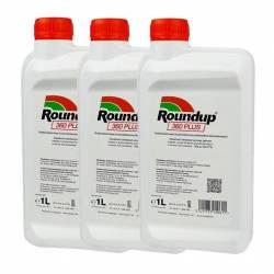 Roundup 360 PLUS SL 3L Oprysk na chwasty Monsanto Randap Rondup