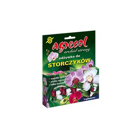 Agrecol 5x15ml Odżywka do storczyków aplikatory