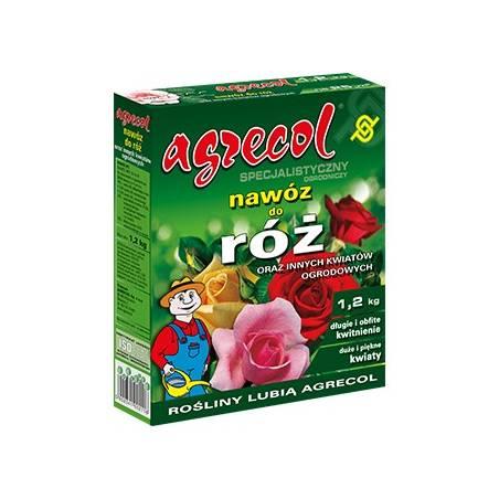Agrecol 1,2kg Specjalistyczny nawóz do róż i innych kwiatów ogrodowych