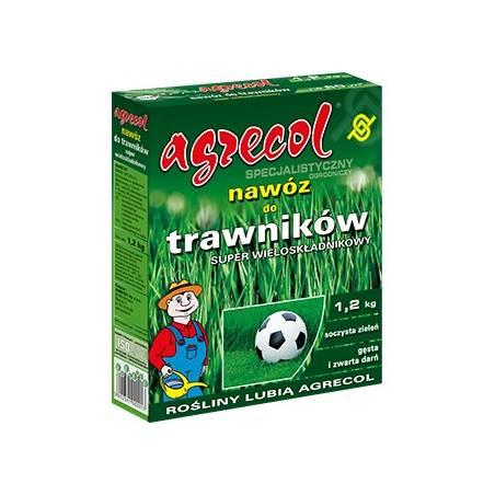 Agrecol 1,2kg Specjalistyczny nawóz do trawników super wieloskładnikowy