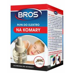 Bros 40ml Płyn do elektro na komary ochrona do 60 nocy