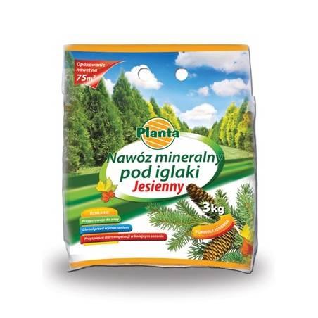 Planta 3kg Nawóz mineralny pod iglaki jesienny