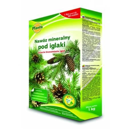 Planta 1kg Nawóz mineralny pod iglaki przeciw brązowieniu igieł