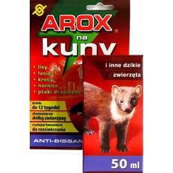 Arox 50ml Preparat odstraszający na kuny krety nornice i inne zwierzęta