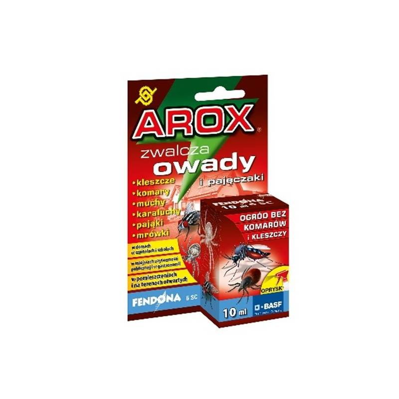 Arox 10ml Fendona 6SC Latające i biegające ogród bez kleszczy i komarów